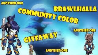 brawlhalla community color giveawawy Videos - votube net