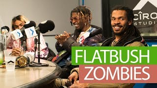 FLATBUSH ZOMBIES FREESTYLE ON FLEX | #FREESTYLE095