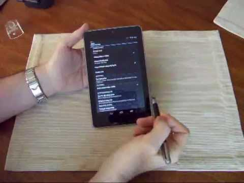 Google Nexus 7 Tutorial: Adding privacy/security, including sleep-wake locking (magnet cover)