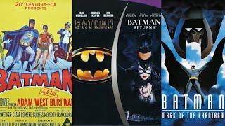 Batman Movie Intro Mashup