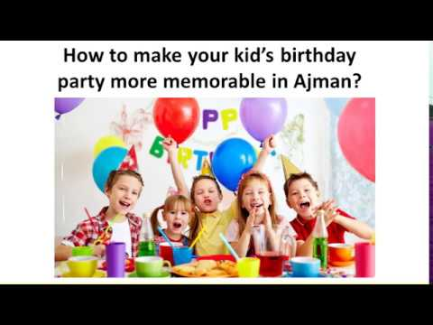 Ways to make your kids feel special on their special day