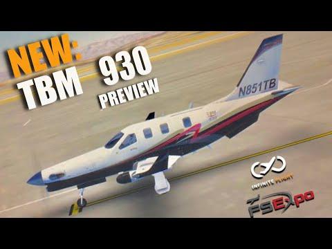 Infinite Flight Update - TBM 930 Preview! [MUST WATCH]
