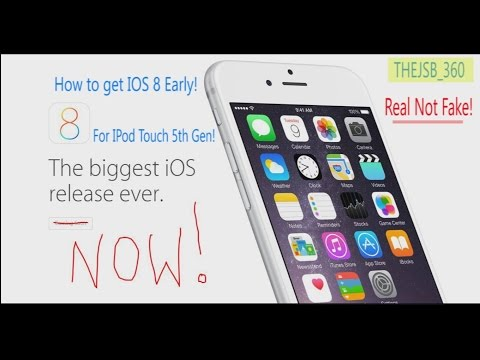 How to get iOS 8 Early no UDID!! (10/09/14) Not Fake!!