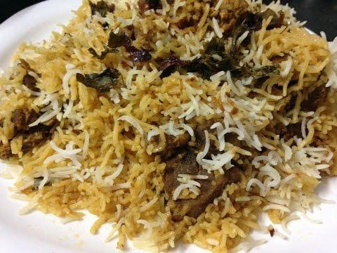 Hyderabadi Mutton Dum Biryani Recipe - How To Make Hyderabadi Biryani - eid special recipe