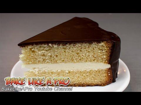 Easy Vanilla Cake Recipe   Heart Shaped Mold