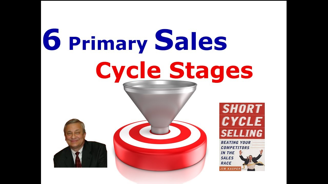 The 6 Primary Sales Cycle Stages - Are You Using All Of Them – Jim Kasper