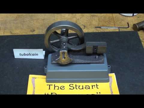 Tubalcain BUILDS THE STUART PROGRESS STEAM ENGINE pt 5