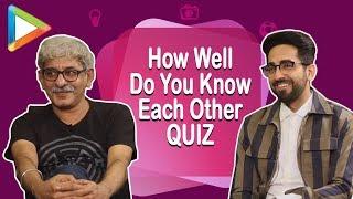 ENTERTAINING: Ayushmann Khurrana & Sriram Raghavan – How Well Do You Know Each Other QUIZ
