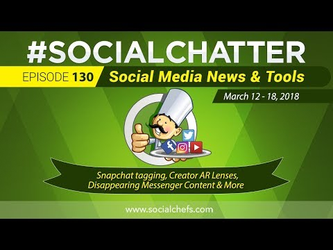 Social Media Marketing Talk Show 130 - Snapchat creator boost, YouTube search-based ad targeting