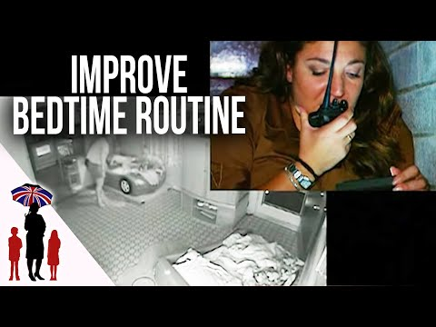 Supernanny Coaches Parents Through Bedtime Routine | Supernanny