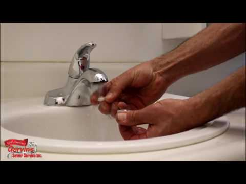 Garvin's - How to clean an in-sink aerator