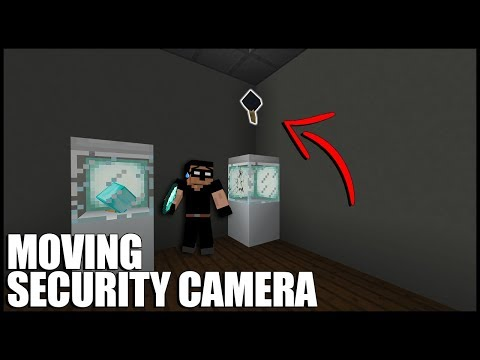 Moving Security Camera In Minecraft (No commands/Mods)