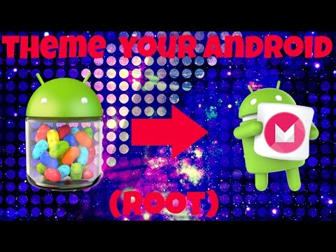 How To Make Your Phone Look Like Android 6.0 on Jelly Bean Devices (Root)