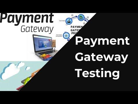 Payment Gateway Testing