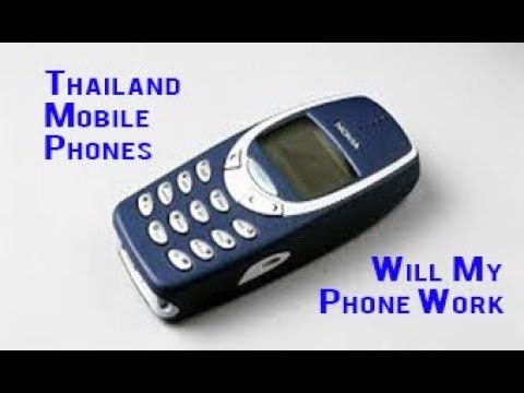 Thailand Mobile Phones Can I Take Mine and Will it Work