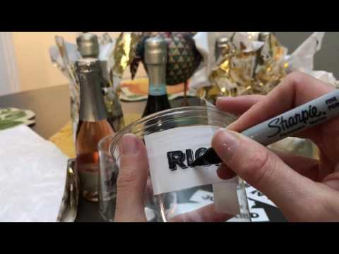 Thanksgiving Gifts - Sharpie Wine Glasses & Cups