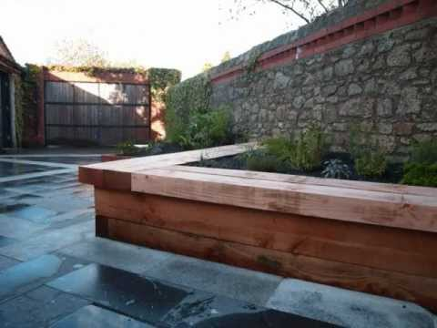 Raised Herb Planters With Benches