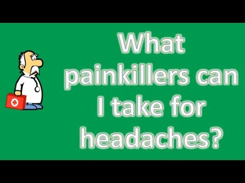 What painkillers can I take for headaches ? | Good Health and More