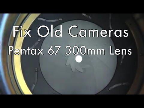 Fix Old Cameras: Pentax 67 300mm Lens