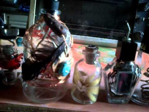 Hemp wick jars