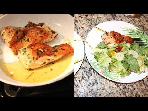Quick, Fresh, Tasty Salmon Salad | Healthy