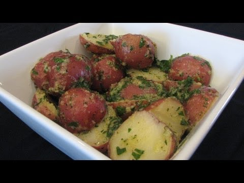 Herb Buttered Potatoes -- Lynn's Recipes