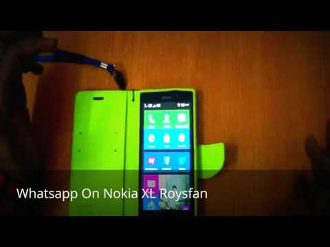 How to install whatsapp on Nokia XL