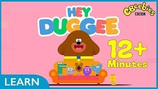 CBeebies | Hey Duggee Badge Compilation | 12+ Minutes