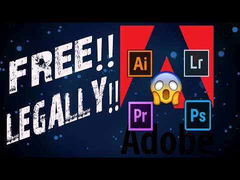 How to Get Adobe Product Free[LEGALLY] 2017 | Window Xp, 7, 8.1, 10
