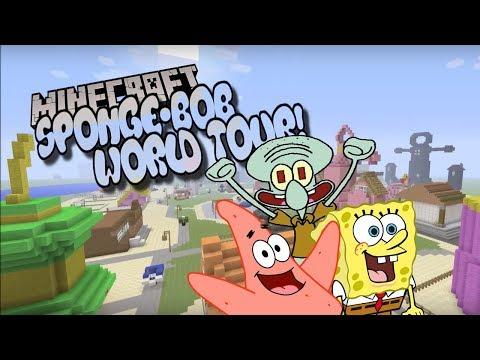 Minecraft Spongbob Bikini Bottom World Tour!