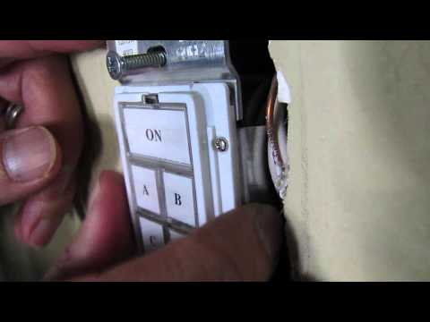 Insteon Keypadlinc 6-Button Dimmer Switch Installation - Home Automation Lighting System
