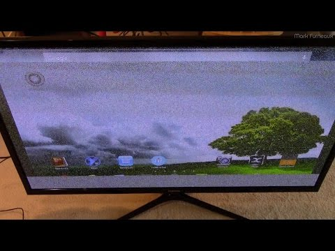 HDMI Problems on a Lightning Stricken Plasma TV
