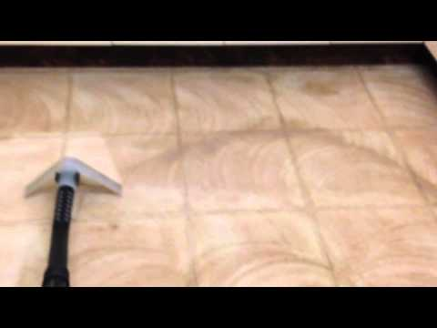 Linoleum Floor Cleaning