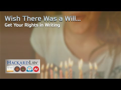 What If There's No Will? | Get Inheritance Rights in Writing