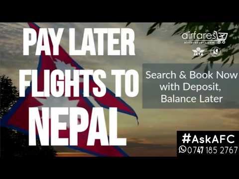 Cheap flights to Nepal