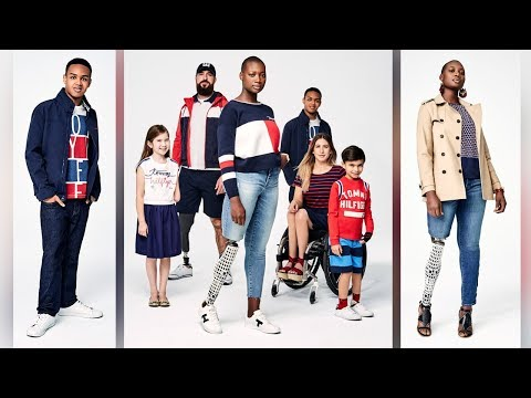 Tommy Hilfiger releases disability-friendly spring line