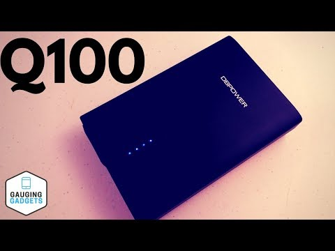 DBPOWER 26400mAh Laptop Power Bank -  Q100 AC Outlet Portable Charger