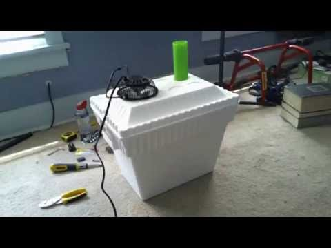 $10 DIY Styrofoam Air Conditioner