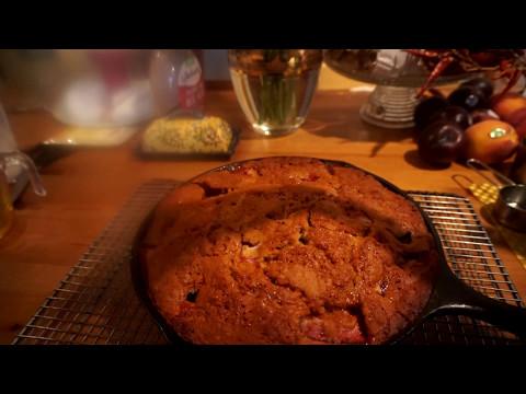 Vegan Strawberry Skillet Cake - Vegan For Life