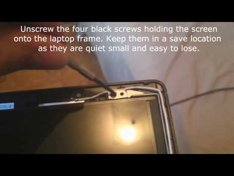 Laptop Screen Replacement / How to replace laptop screen Acer E5-551-856A
