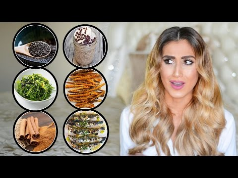21 Foods To Grow Longer Thicker Hair