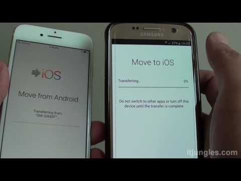 iPhone 7: How to Transfer Data Over from Android