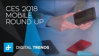 Mobile Round Up - Live at CES 2018