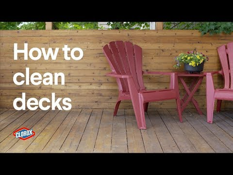 Clorox® How-To : Clean an Outdoor Deck (with Clorox® Outdoor Bleach)