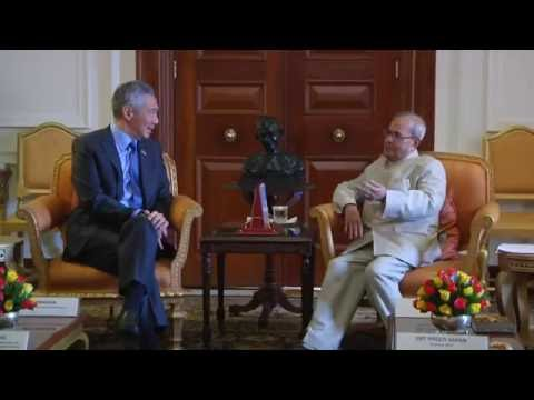 Prime Minister of Republic of Singapore call on the President - 05-10-2016