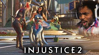 WONDER WOMAN KILLS HARLEY QUINN!? | Injustice 2 #9