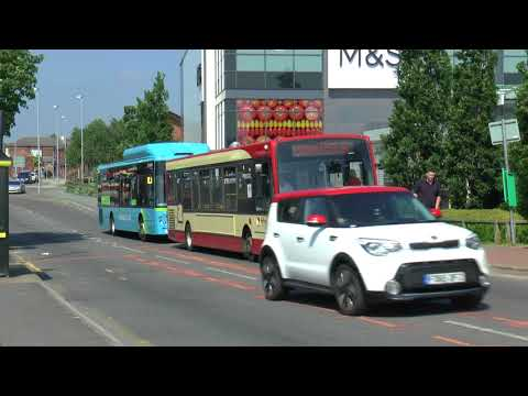 WIDNES BUSES MAY 2018