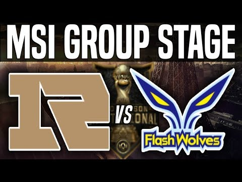 RNG vs FW - MSI 2018 Group Stage Day 4 - Royal Never Give Up vs Flash Wolves | LoL MSI 2018