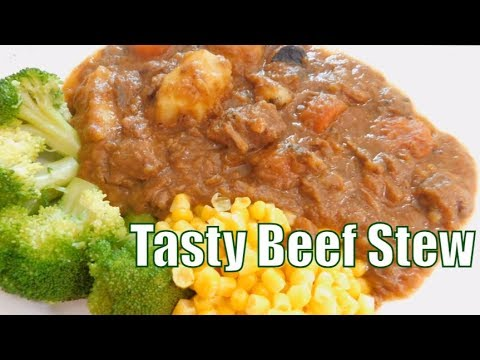 How to Make a Tasty Beef Stew recipe in a Rich Gravy  (One Pot Beef Stew with vegetables)