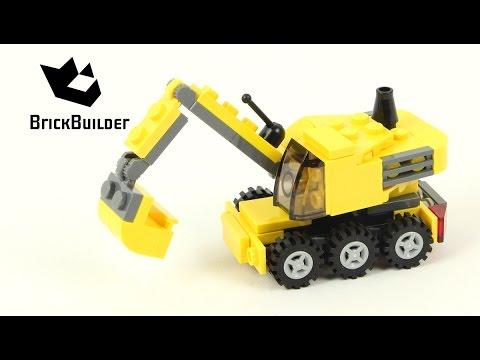 Lego Creator 4915 Mini Construction - Excavator - Lego Speed Build